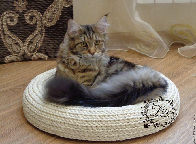 Лежанка для кошки своими руками. Оригинальные идеи