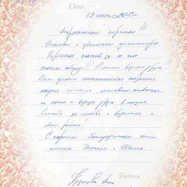 Кузнецова Анна